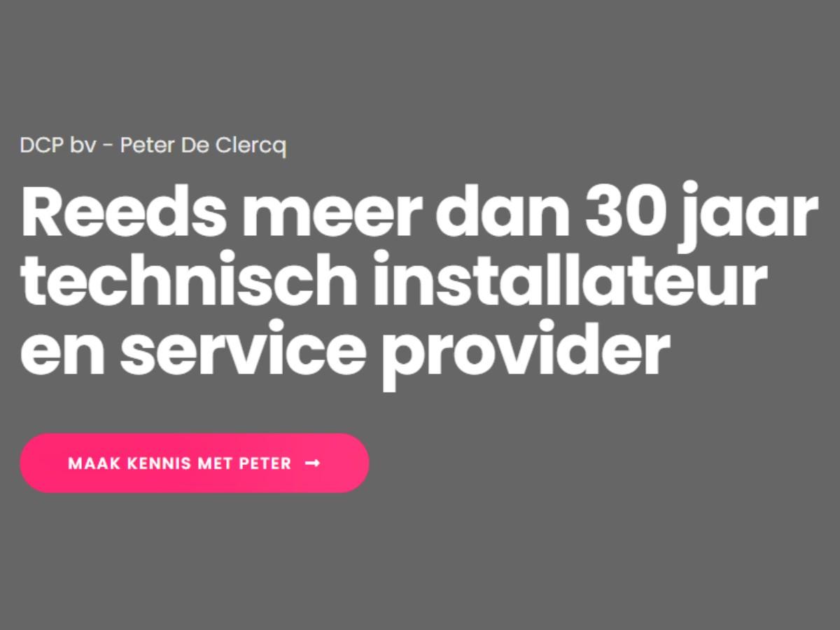 DCP bv projecten ERA services
